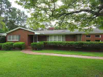 Perry Single Family Home For Sale: 630 Hillcrest