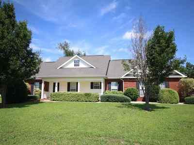 Bibb County, Crawford County, Houston County, Peach County Single Family Home For Sale: 108 Chamberlain