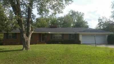 Perry Single Family Home For Sale: 1428 Baker