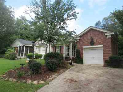 Perry Single Family Home For Sale: 1107 Cater