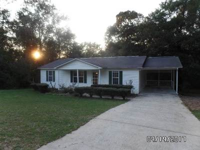 Perry Single Family Home For Sale: 104 Woods