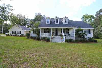 Perry Single Family Home For Sale: 227 Highway 41