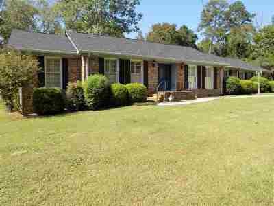 Bibb County, Crawford County, Houston County, Peach County Single Family Home For Sale: 4667 N Beechwood