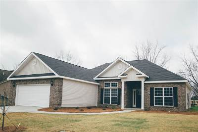 Perry Single Family Home For Sale: 109 Watts Drive