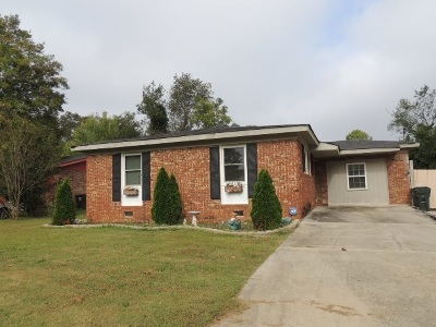 Warner Robins GA Single Family Home For Sale: $59,900