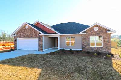 Byron Single Family Home For Sale: (Lot 91) 106 Hawks Ridge