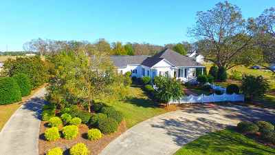 Perry Single Family Home For Sale: 105 Hill Road