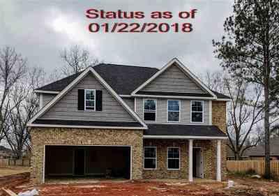 Kathleen Single Family Home For Sale: 807 Hawk's Nest Drive