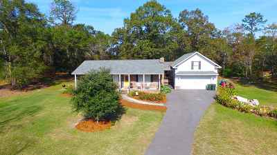 Perry Single Family Home For Sale: 217 Mossy Lake Road
