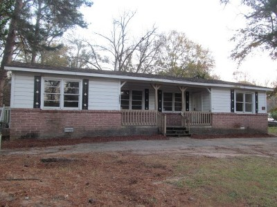 Macon Single Family Home For Sale: 2892 New Clinton Road