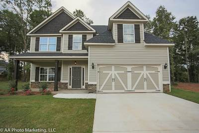 Bibb County, Crawford County, Houston County, Peach County Single Family Home For Sale: 104 Bluestem Court
