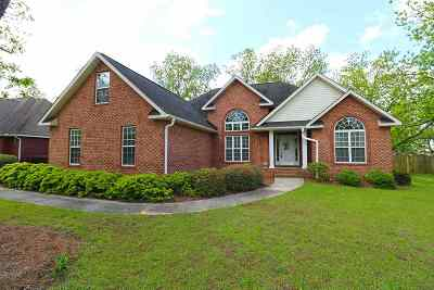 Perry Single Family Home For Sale: 207 Brookewater Lane