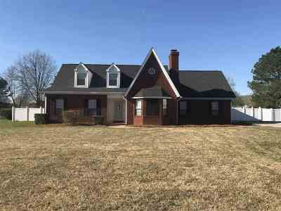 Kathleen Single Family Home For Sale: 201 William D. Evans Court