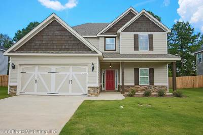 Bibb County, Crawford County, Houston County, Peach County Single Family Home For Sale: 106 Wildfire Way