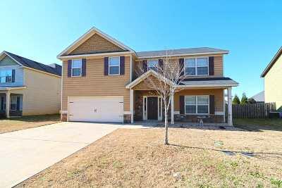 Kathleen Single Family Home For Sale: 114 Broomsedge Lane