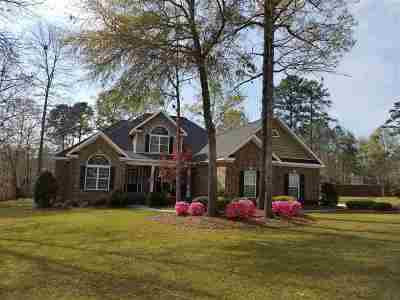 Bibb County, Crawford County, Houston County, Peach County Single Family Home For Sale: 307 Sage Meadows Lane