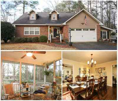 Perry Single Family Home For Sale: 1003 Cherokee Road