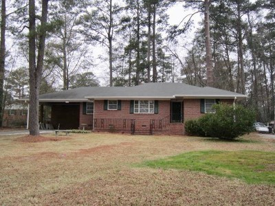 Macon Single Family Home For Sale: 712 Woodhaven Road