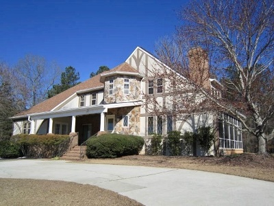 Macon Single Family Home For Sale: 242 Carriage Trail