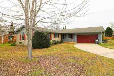 Perry Single Family Home Contingent: 1409 Canterbury Ct