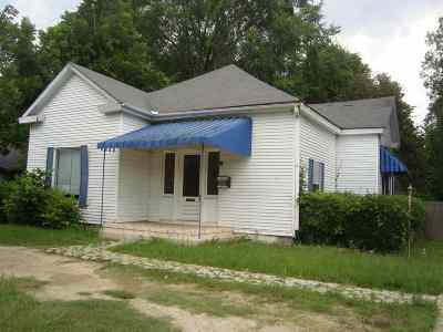 Hawkinsville GA Single Family Home For Sale: $39,000
