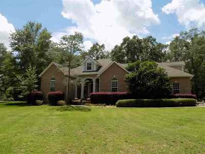 Perry Single Family Home For Sale: 205 Chinaberry Lane