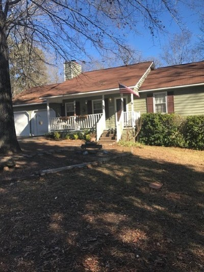 Macon Single Family Home For Sale: 1151 Ridgeview Circle