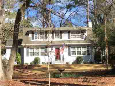 Macon Single Family Home For Sale: 1243 Nottingham Drive