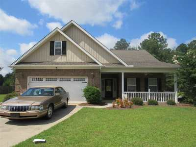 Perry Single Family Home For Sale: 123 Bedford Court