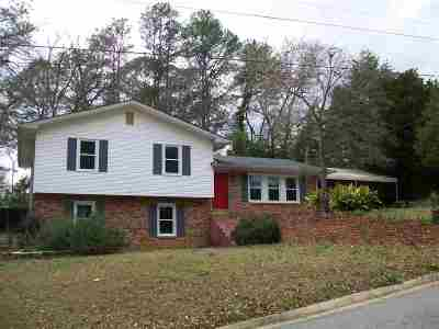Warner Robins GA Single Family Home For Sale: $124,900