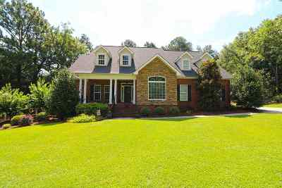 Warner Robins GA Single Family Home For Sale: $319,900