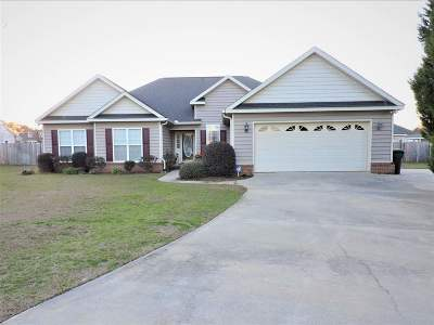 Warner Robins Single Family Home For Sale: 206 Hilton Court