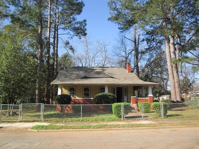 Fort Valley Single Family Home For Sale: 202 Calhoun St.