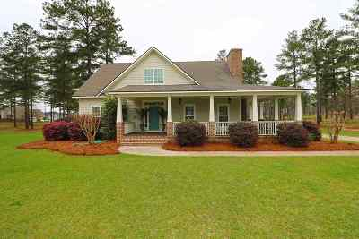 Perry Single Family Home For Sale: 4011 Roundtop Circle
