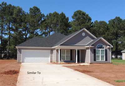 Perry Single Family Home For Sale: 106 Chaparral Drive