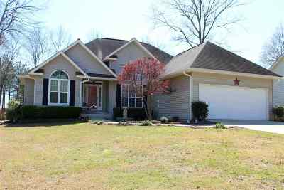 Perry Single Family Home For Sale: 309 Shane Circle