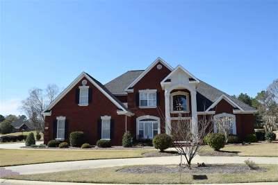 Kathleen Single Family Home For Sale: 107 Horseshoe Bend Boulevard