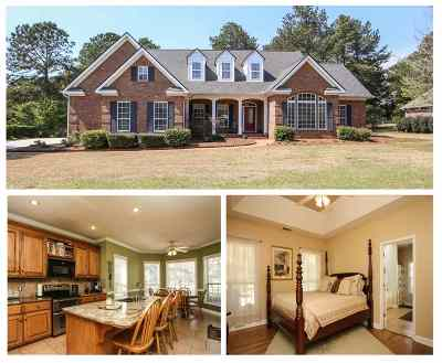 Perry Single Family Home For Sale: 305 Idle Pines Drive