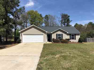 Macon Single Family Home For Sale: 345 Amanda Drive