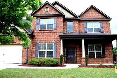Kathleen Single Family Home For Sale: 212 Black Hawke Lane