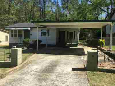Macon Single Family Home For Sale: 1833 Kitchens Road