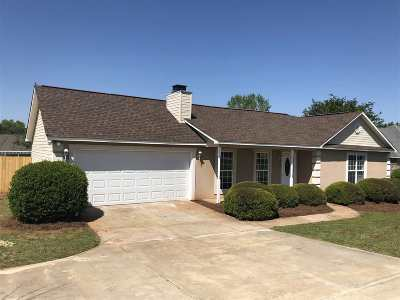 Warner Robins Single Family Home For Sale: 1025 Feagin Mill Road