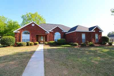 Warner Robins Single Family Home For Sale: 107 Cumberland Woods Terrace