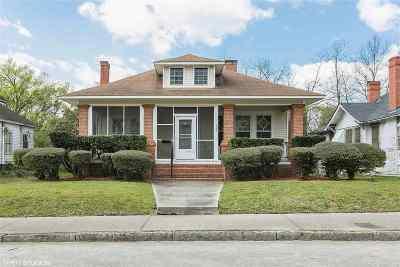 Macon Single Family Home For Sale: 1343 Courtland Avenue
