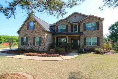 Warner Robins Single Family Home For Sale: 124 Fontaine Walk