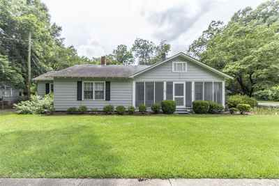 Perry Single Family Home For Sale: 713 Washington Street
