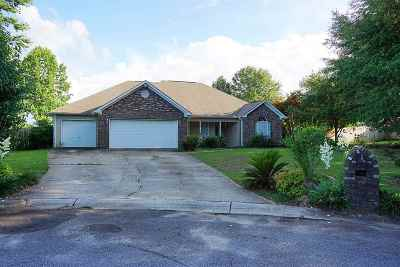 Warner Robins GA Single Family Home For Sale: $160,000