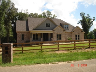 Perry Single Family Home For Sale: 158 Harper Road