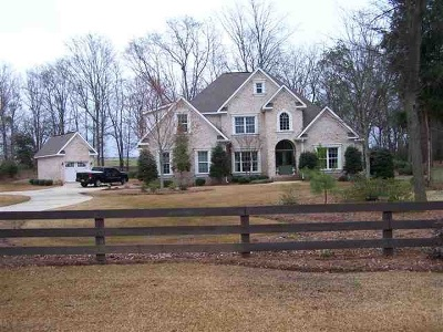Perry Single Family Home For Sale: 218 Walton Chase