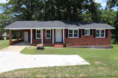 Macon Single Family Home For Sale: 3507 Hartley Bridge Road